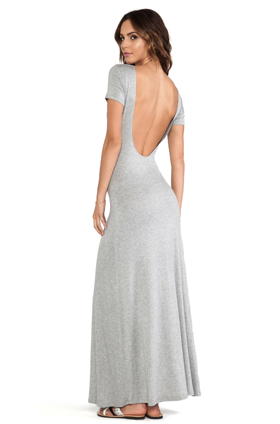 Lovers + Friends Vanity Fair Dress in Heather Grey