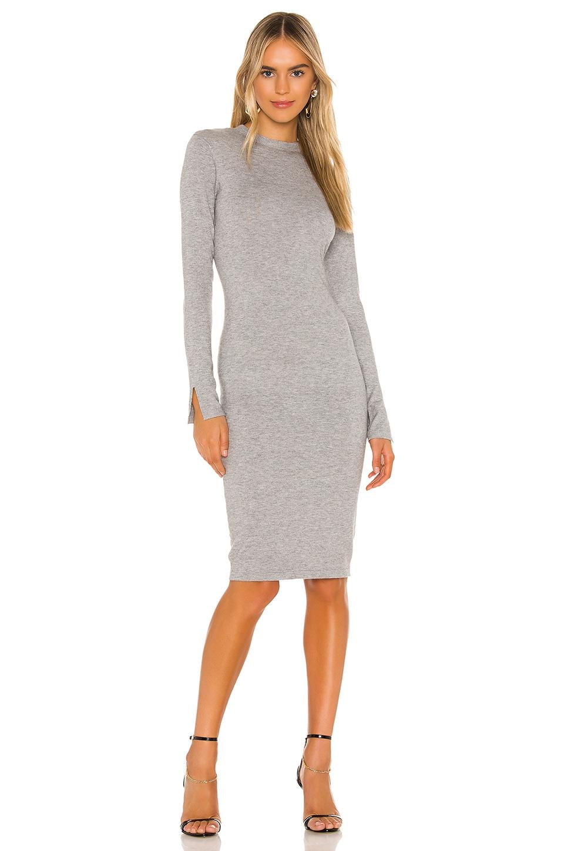 Lovers + Friends Vik Dress in Heather Grey