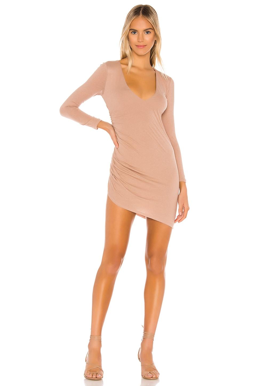 Lovers + Friends Mari Mini Dress in Nude