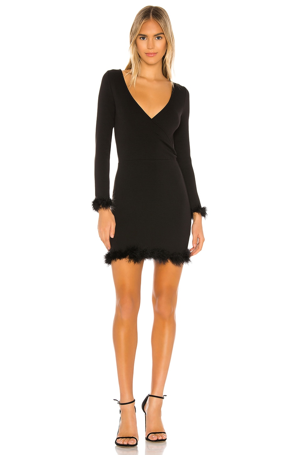 Lovers + Friends Bristol Mini Dress in Black