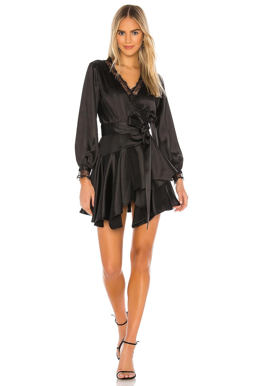 Lovers + Friends The Nadeen Mini Dress in Black