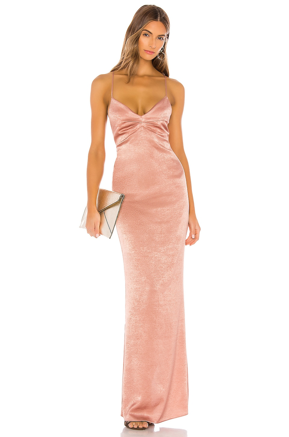 Lovers + Friends Ellie Gown in Mauve