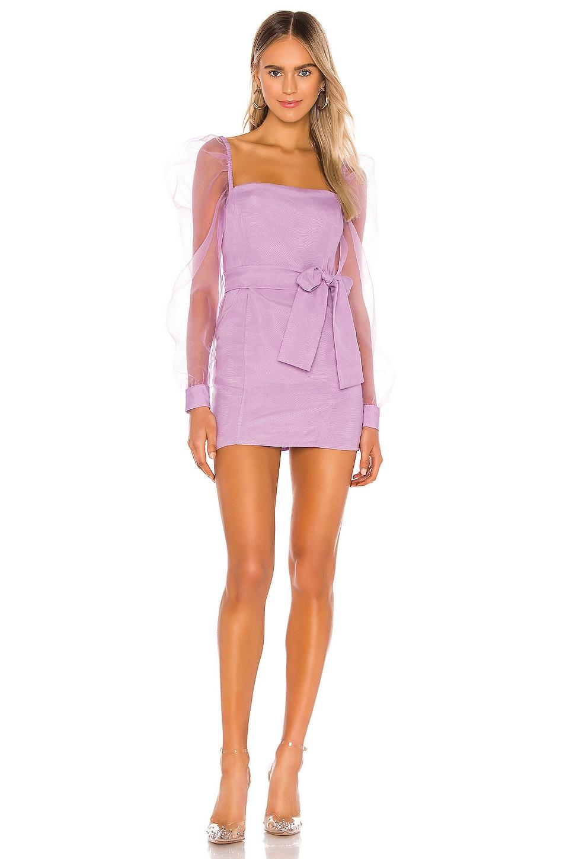 Lovers + Friends Eye Candy Dress in Lilac