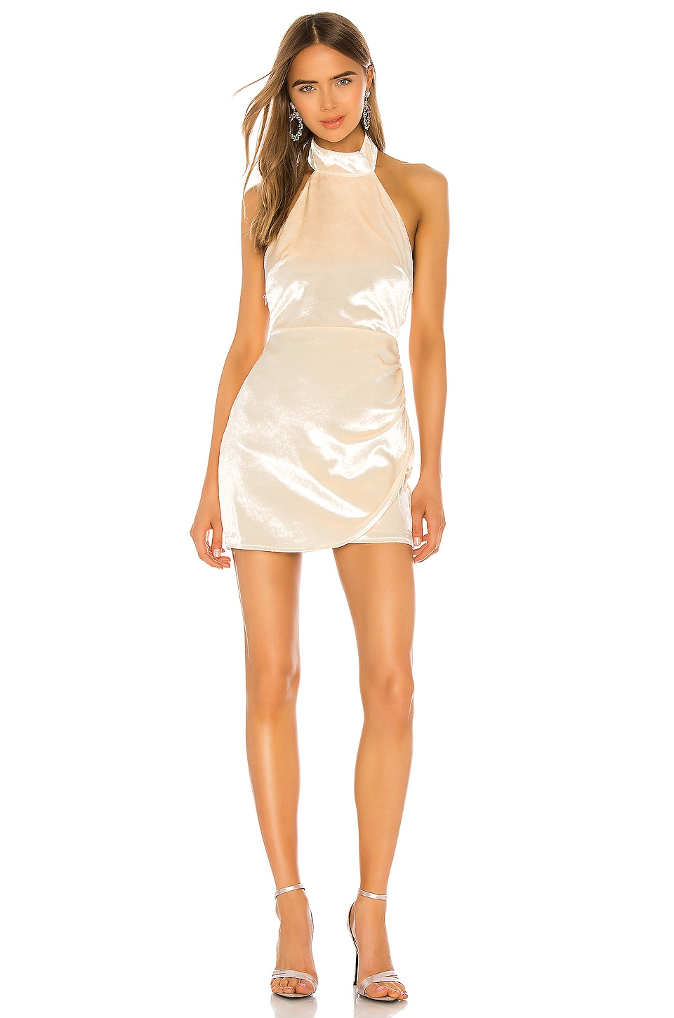 Lovers + Friends Mclaughlin Mini Dress in Prosecco