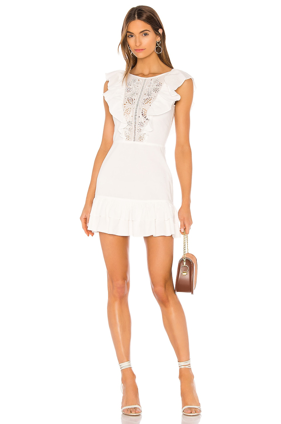 Lovers + Friends Willard Mini Dress in White