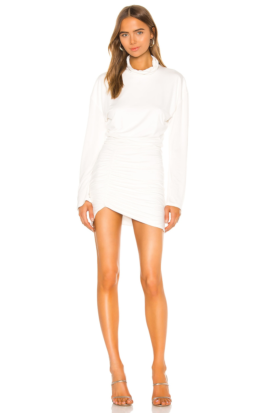 Lovers + Friends Ivana Mini Dress in White