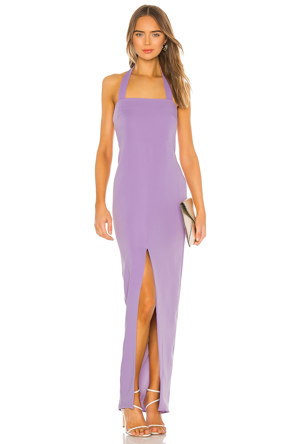 Lovers + Friends Rossi Gown in Lilac Purple