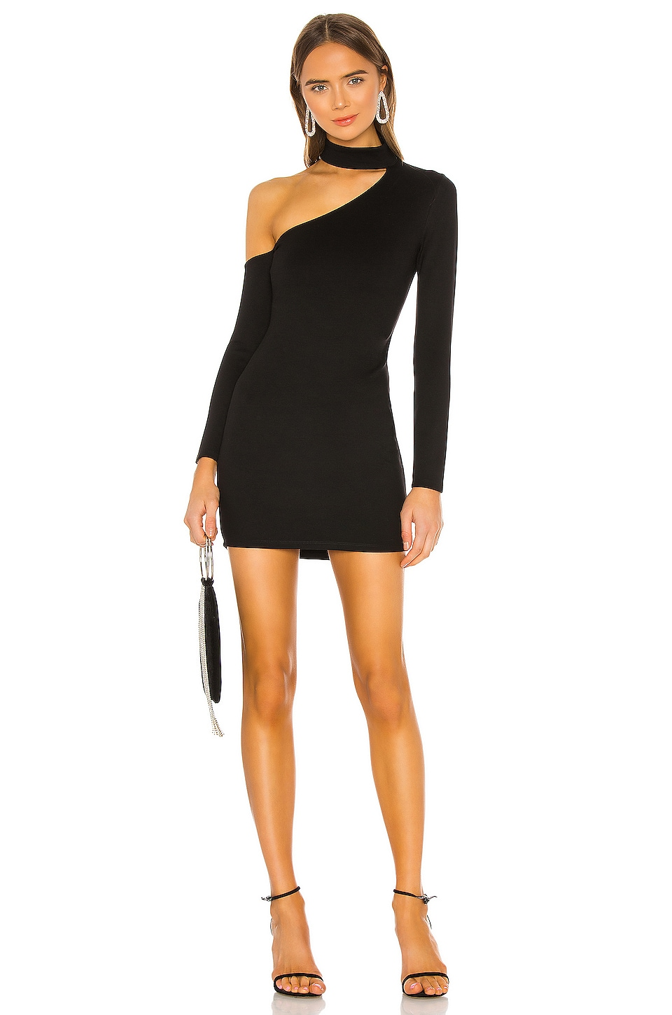 Lovers + Friends Bono Mini Dress in Black