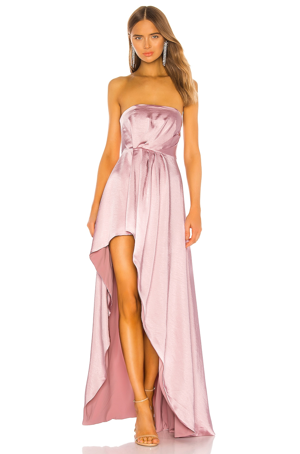 Lovers + Friends Parker Gown in Mauve