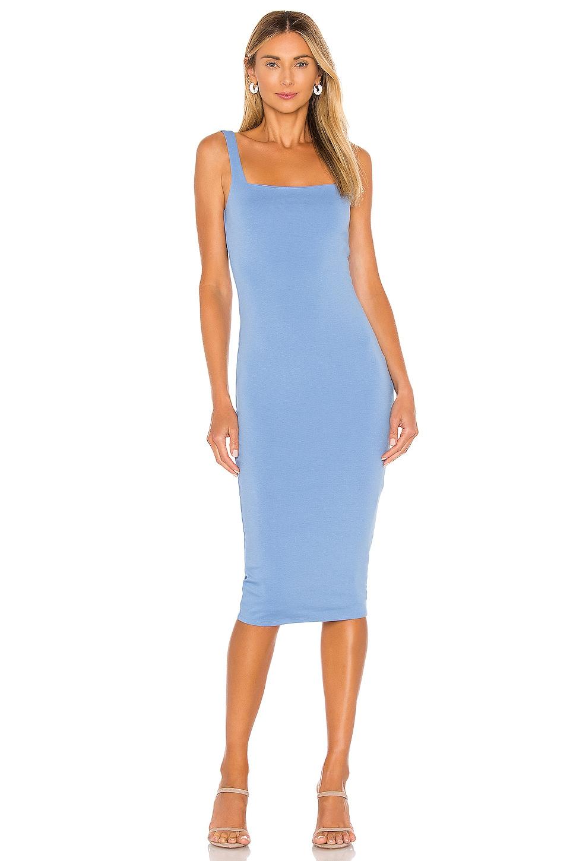 Lovers + Friends Donatella Midi Dress in Canary Blue