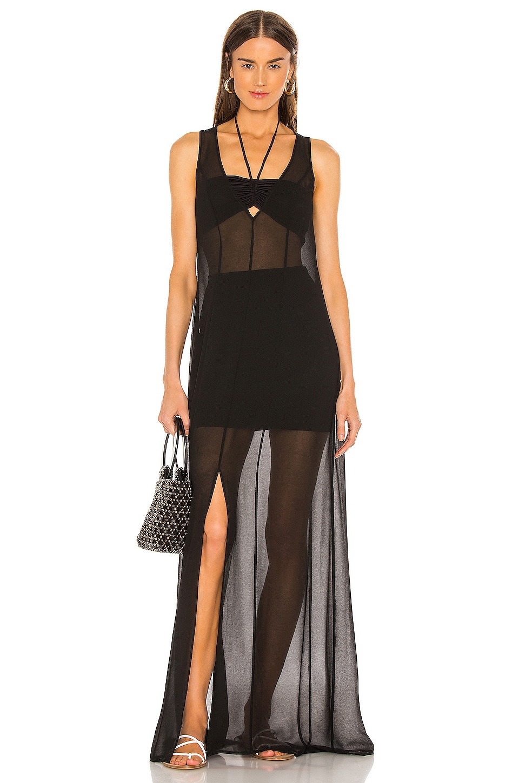 Lovers + Friends Havana Maxi Dress in Black