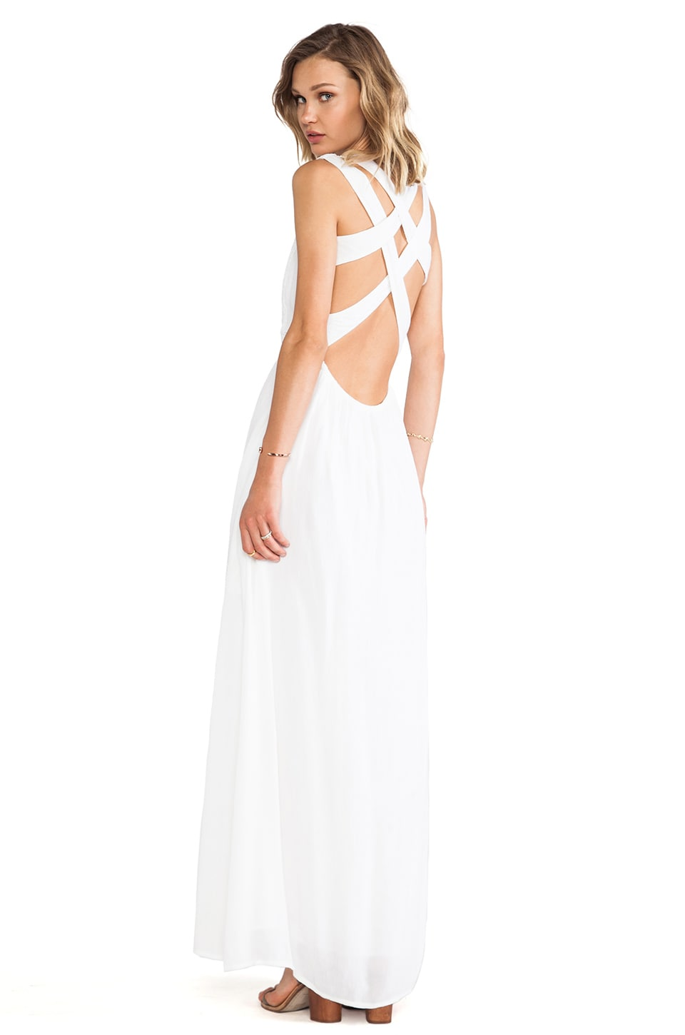 Lovers + Friends Athena Dress in White
