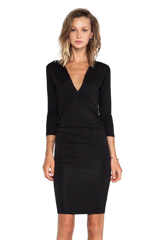 Lovers + Friends Heartache Dress in Black