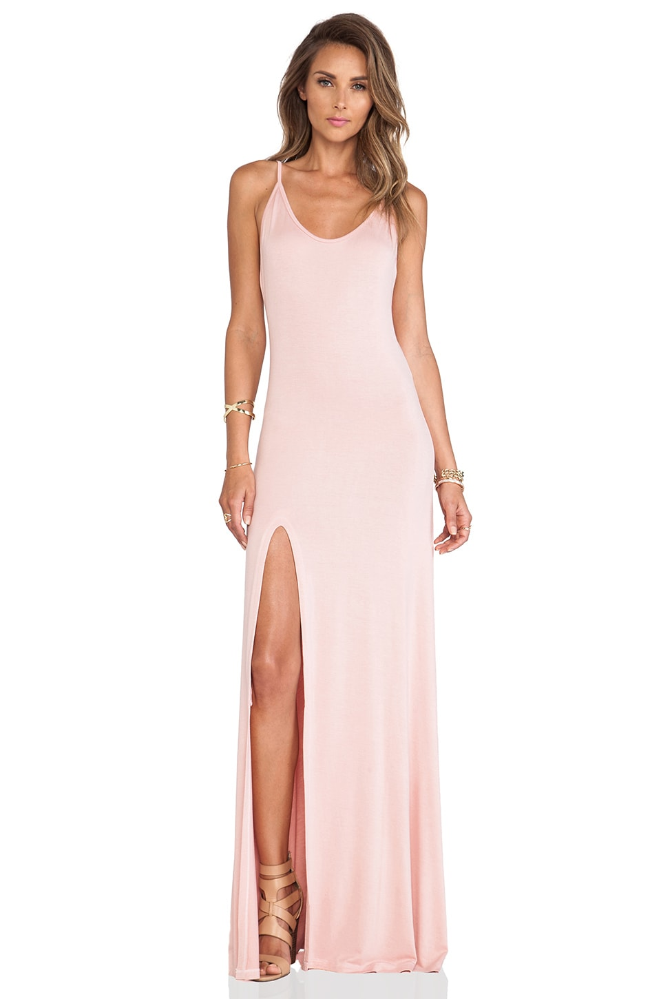 Lovers + Friends Another Girl Maxi Dress in Mauve