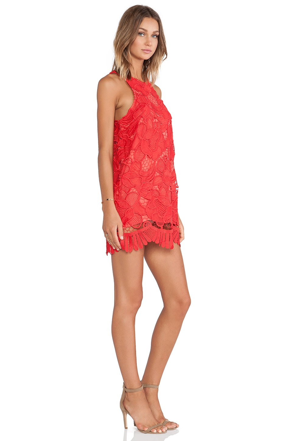 Caspian Shift Dress, view 2, click to view large image.