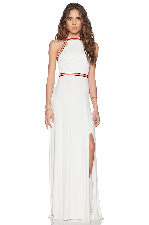 Lovers + Friends Sienna Maxi Dress in Ivory