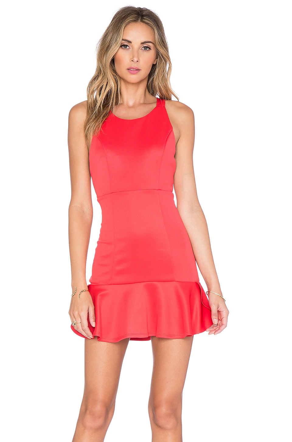 Lovers + Friends Morning Light Dress in Coral