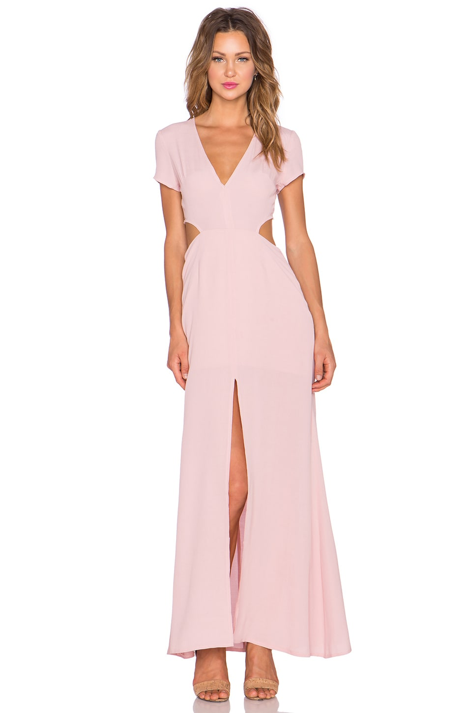 Lovers + Friends x REVOLVE Harper Dress in Pale Pink