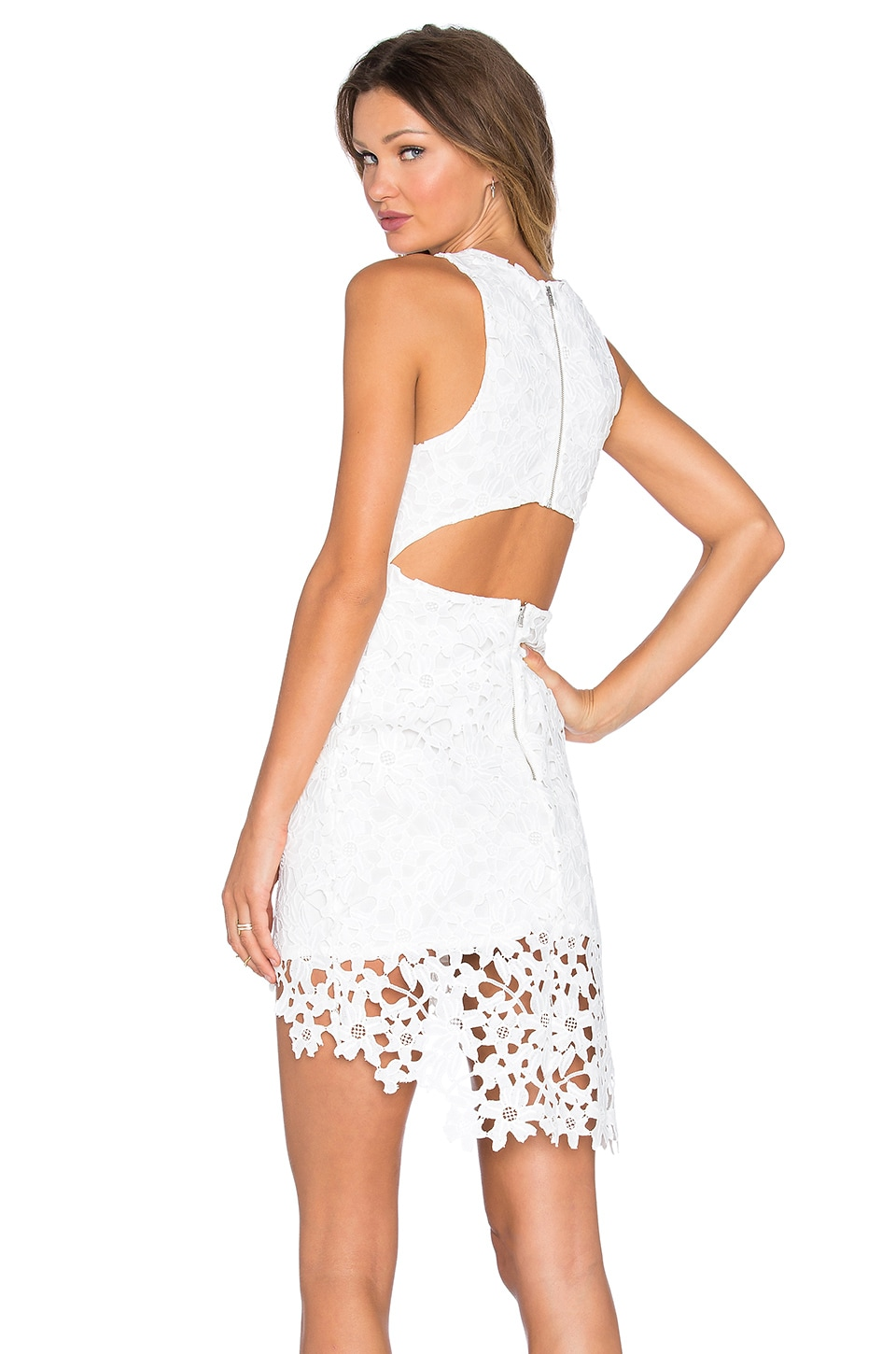 Lovers + Friends x REVOLVE Hold On Dress in White