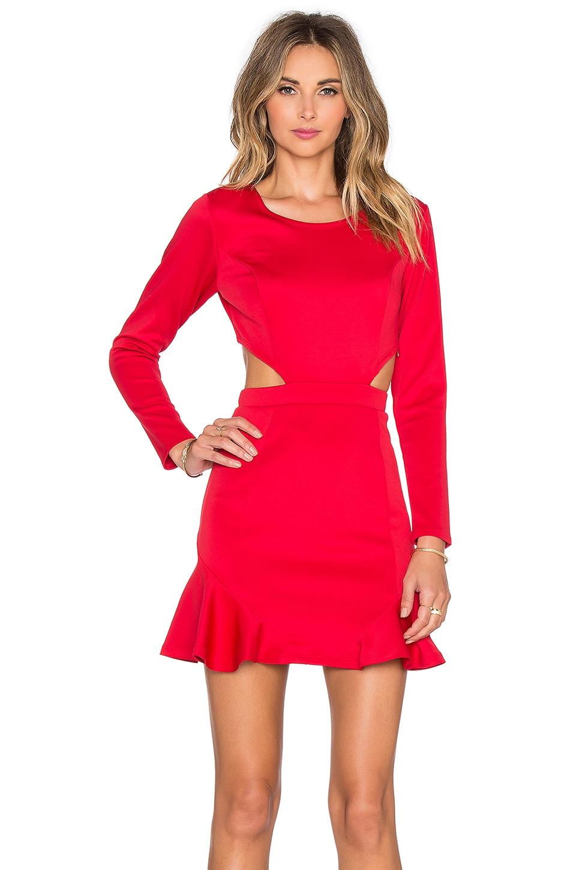 Lovers Friends X Revolve Eternal Long Sleeve Dress In Red Revolve Prisma long sleeve jersey dress. lovers friends