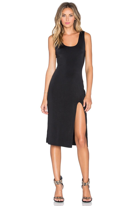 Lovers + Friends x REVOLVE Perfect Midi Dress in Black | REVOLVE