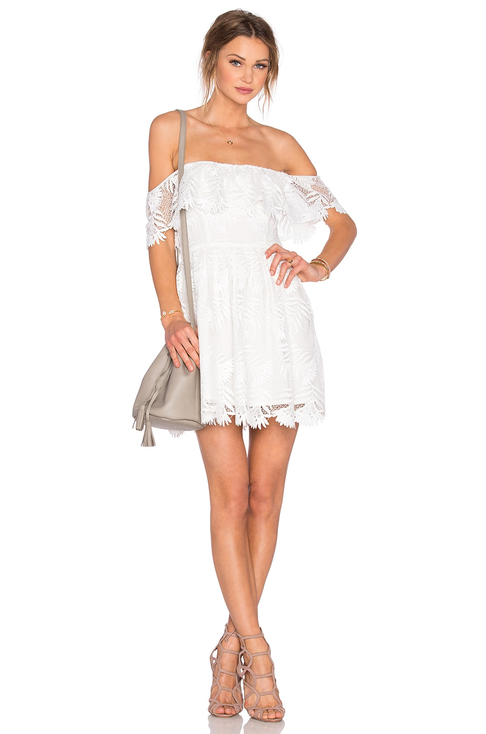 Lovers + Friends x REVOLVE Dream Vacay Dress in White