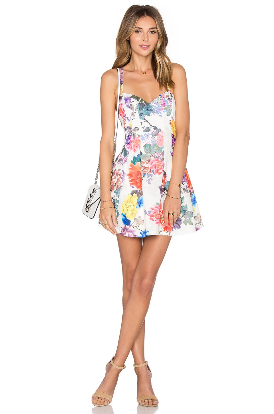 x REVOLVE Abbie Fit & Flare Dress by Lovers + Friends