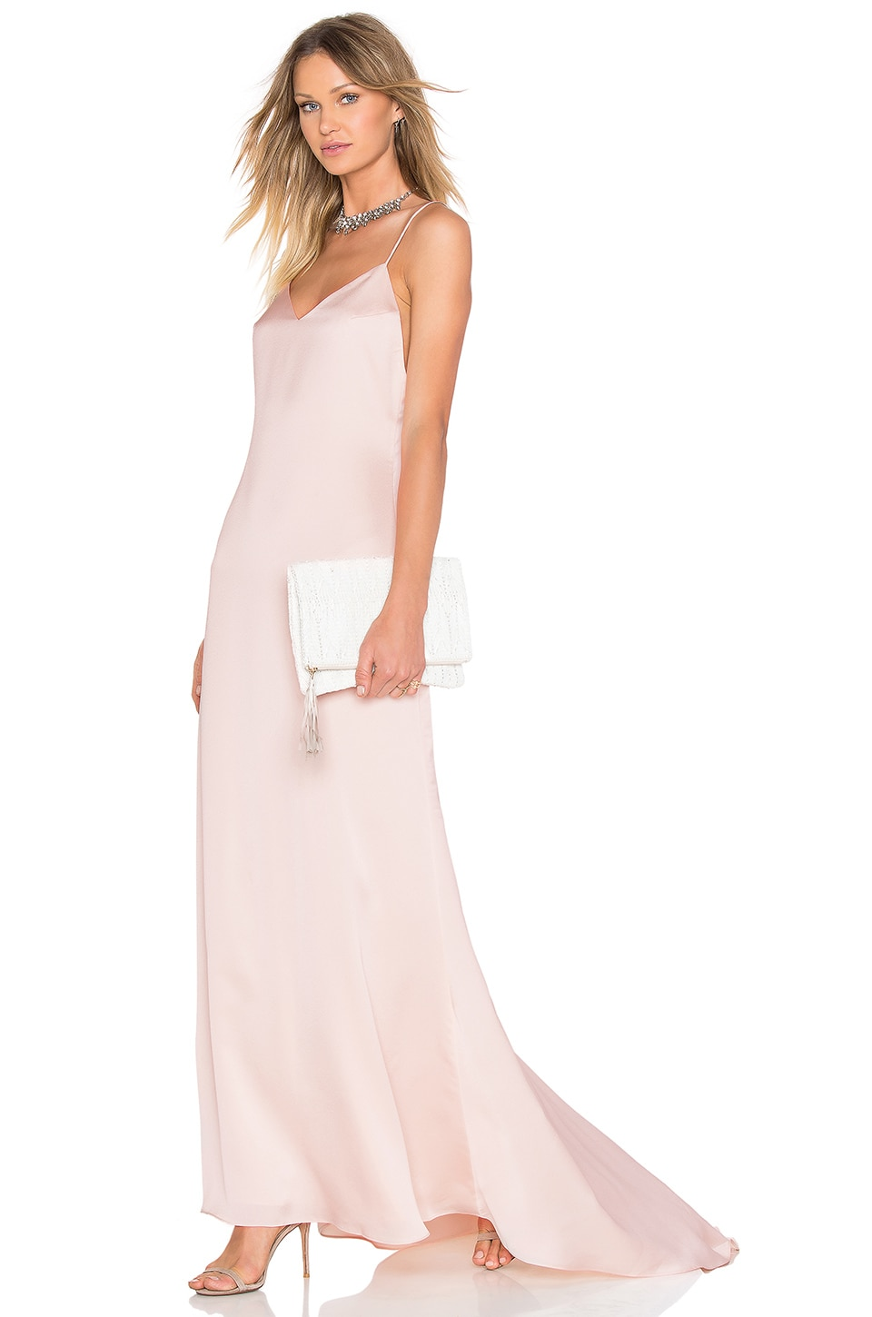 Lovers + Friends x REVOLVE The Slip Dress in Champagne