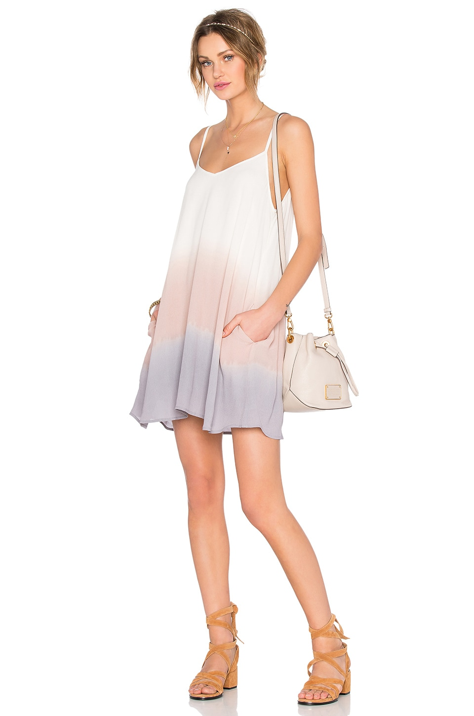 Lovers + Friends x REVOLVE Sunday Slip Dress in Pastel Ombre