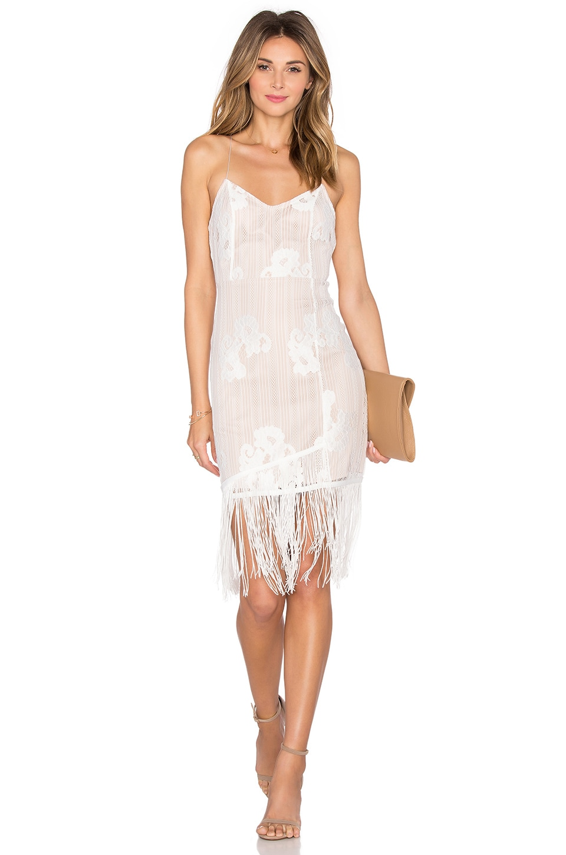 Lovers + Friends Firefly Dress in Ivory
