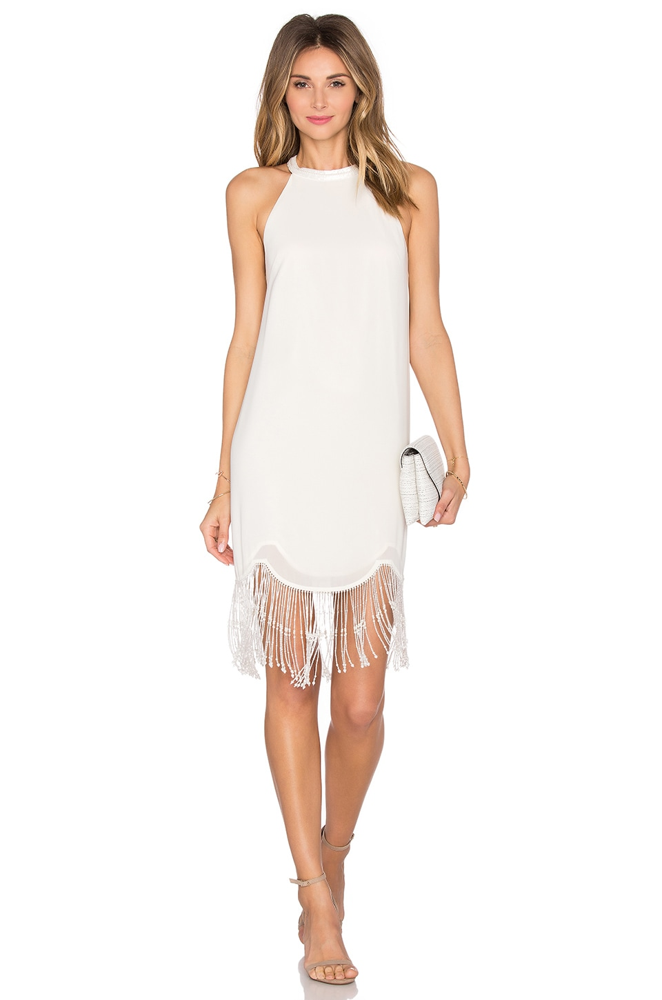 Lovers + Friends x REVOLVE The Charleston Dress in Ivory