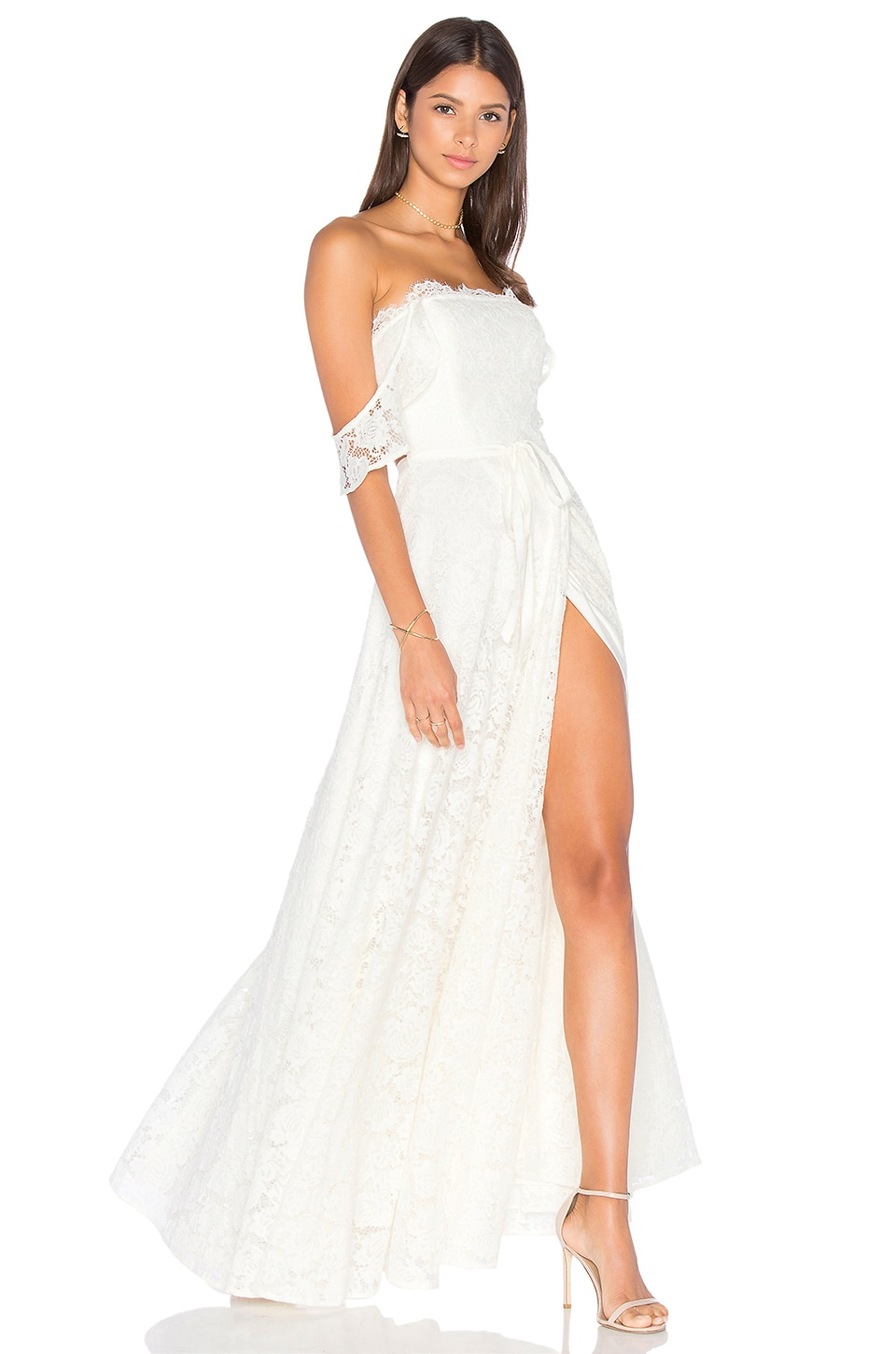 Lovers + Friends x REVOLVE Vienna Gown in White