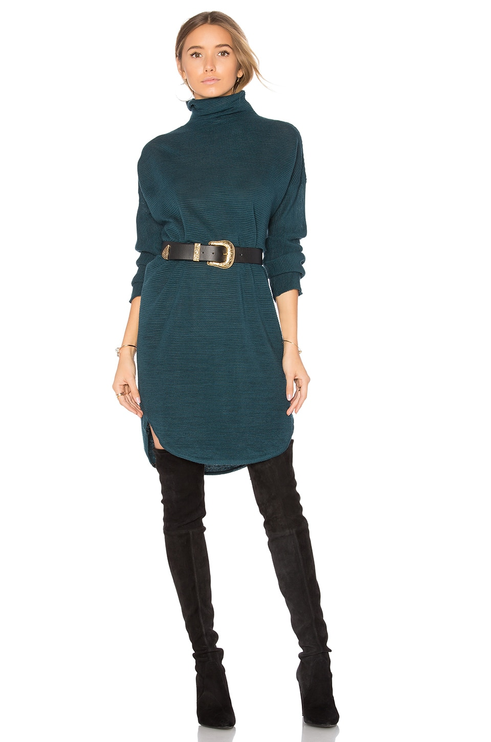 Lovers + Friends x REVOLVE Gigi Sweater Dress in Jade
