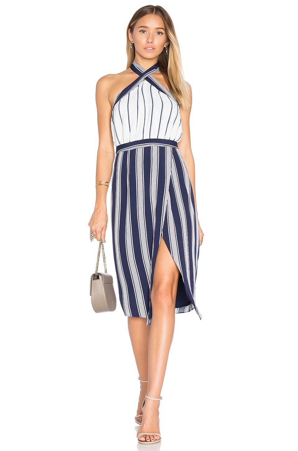 Lovers + Friends Noemi Dress in Stripe