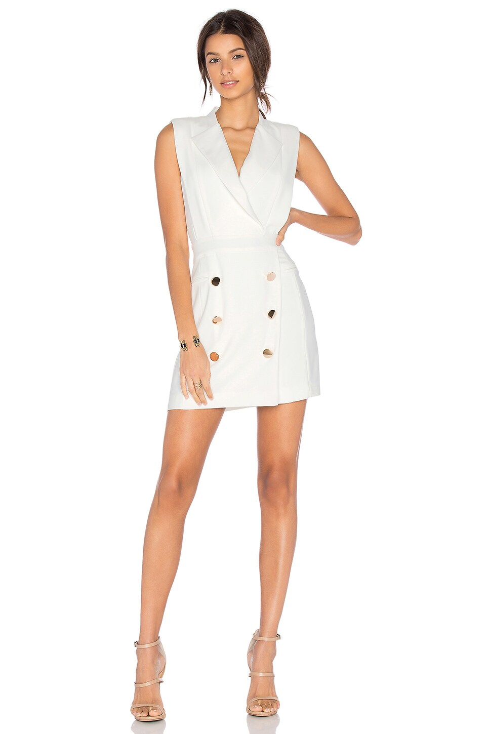 Lovers + Friends x REVOLVE Solace Dress in White
