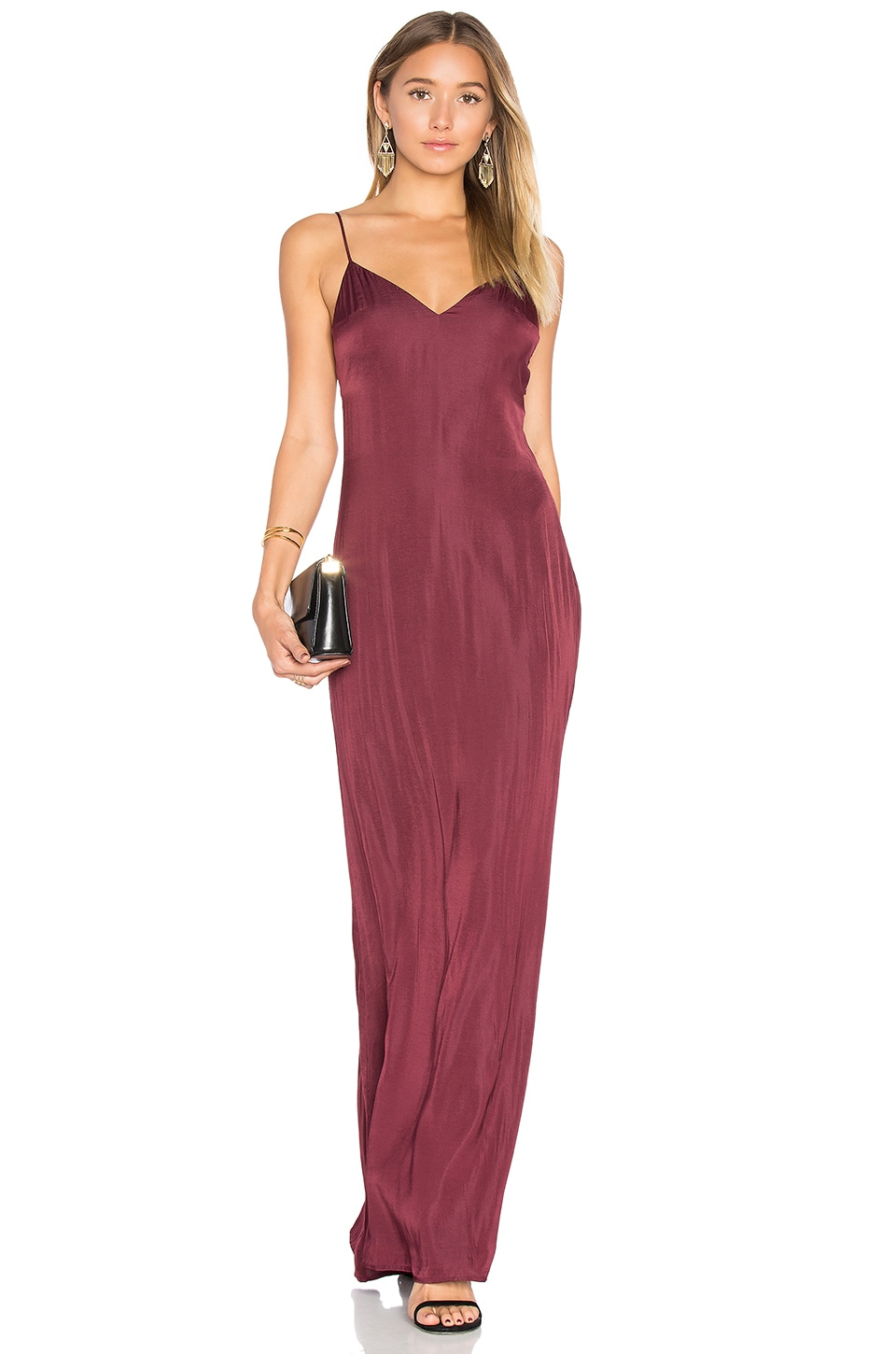 Lovers + Friends x REVOLVE The Revival Dress in Wine