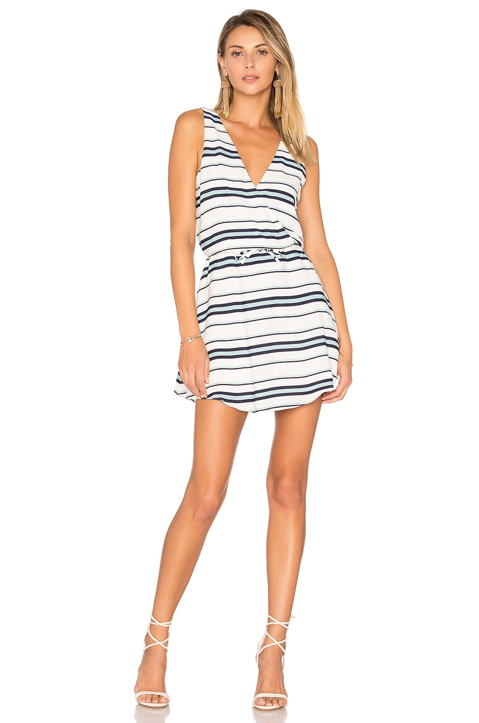Lovers + Friends Dreamland Dress in Blue Stripe