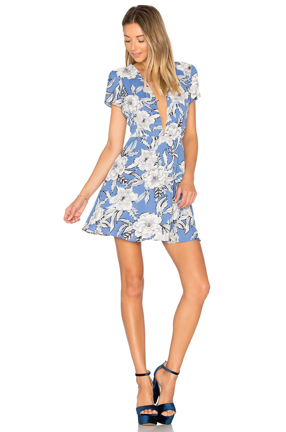 Lovers + Friends Cassidy Dress in Riviera Floral