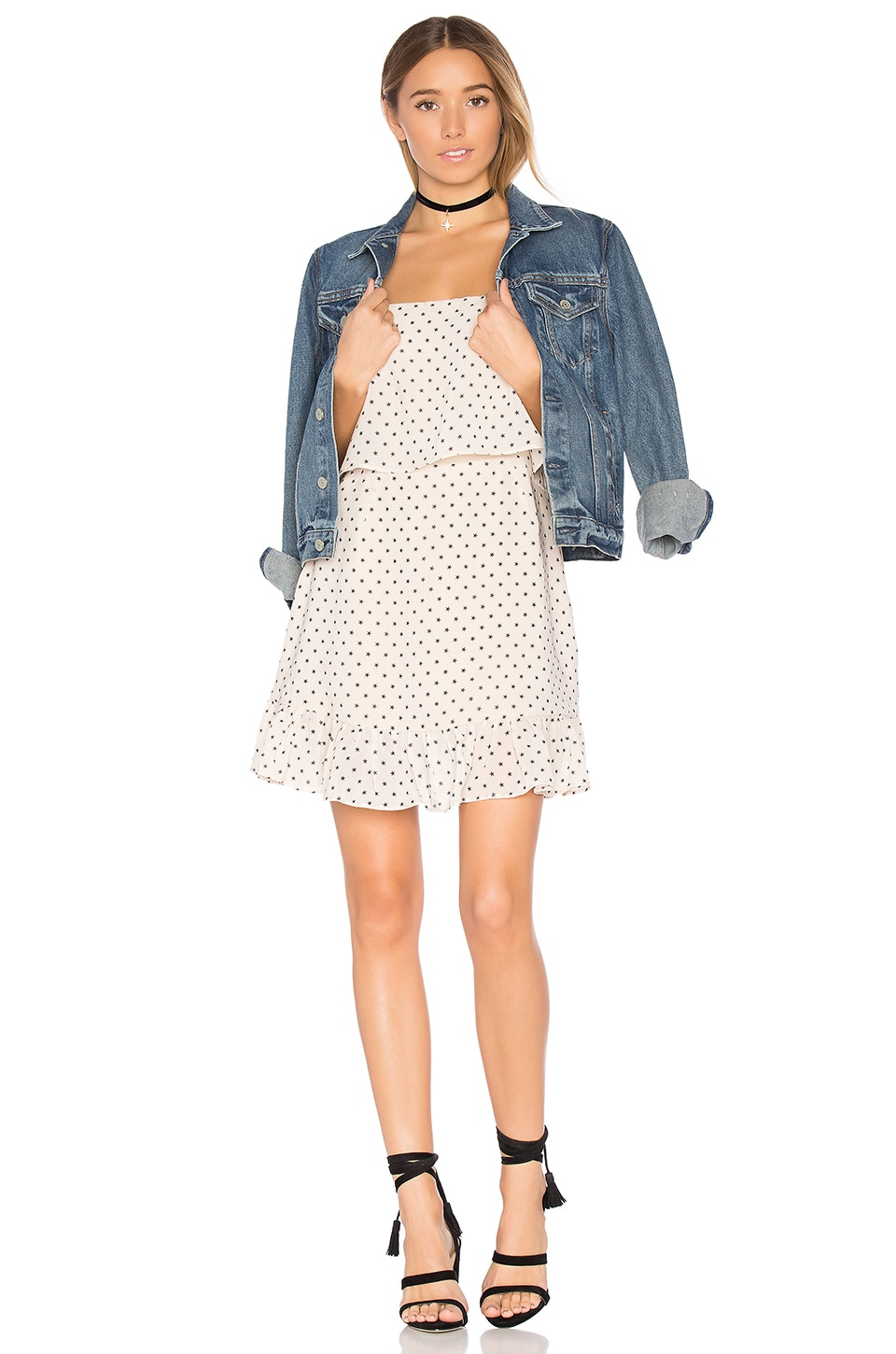 Lovers + Friends x REVOLVE Top Tier Dress in Star Print