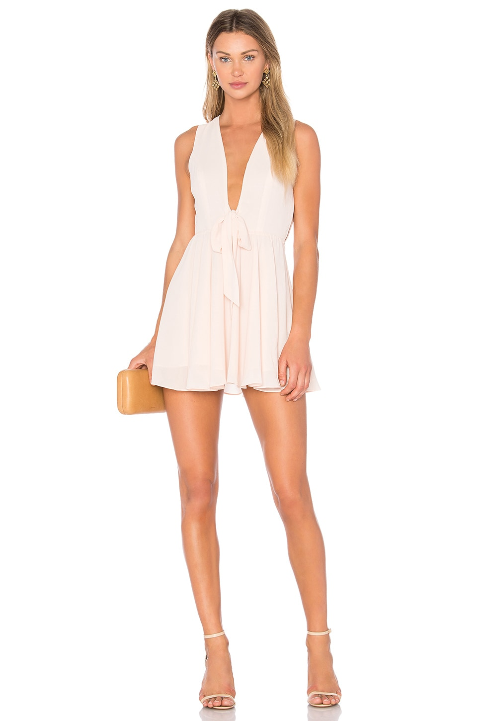 Lovers + Friends x REVOLVE Andie Dress in Blush