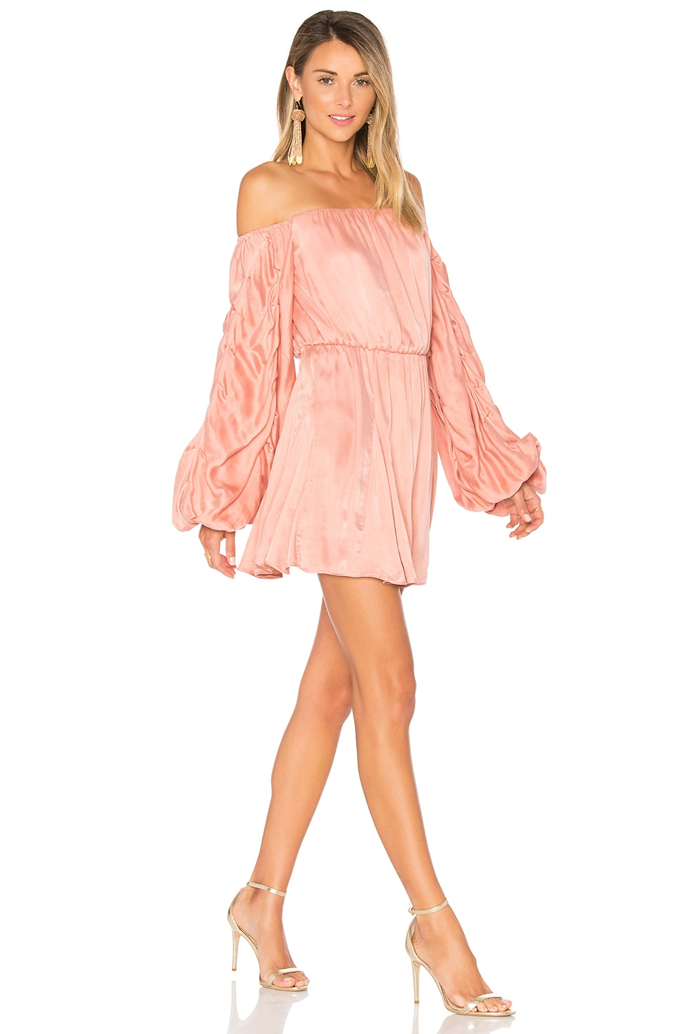 Lovers + Friends x REVOLVE Windblown Dress in Rose