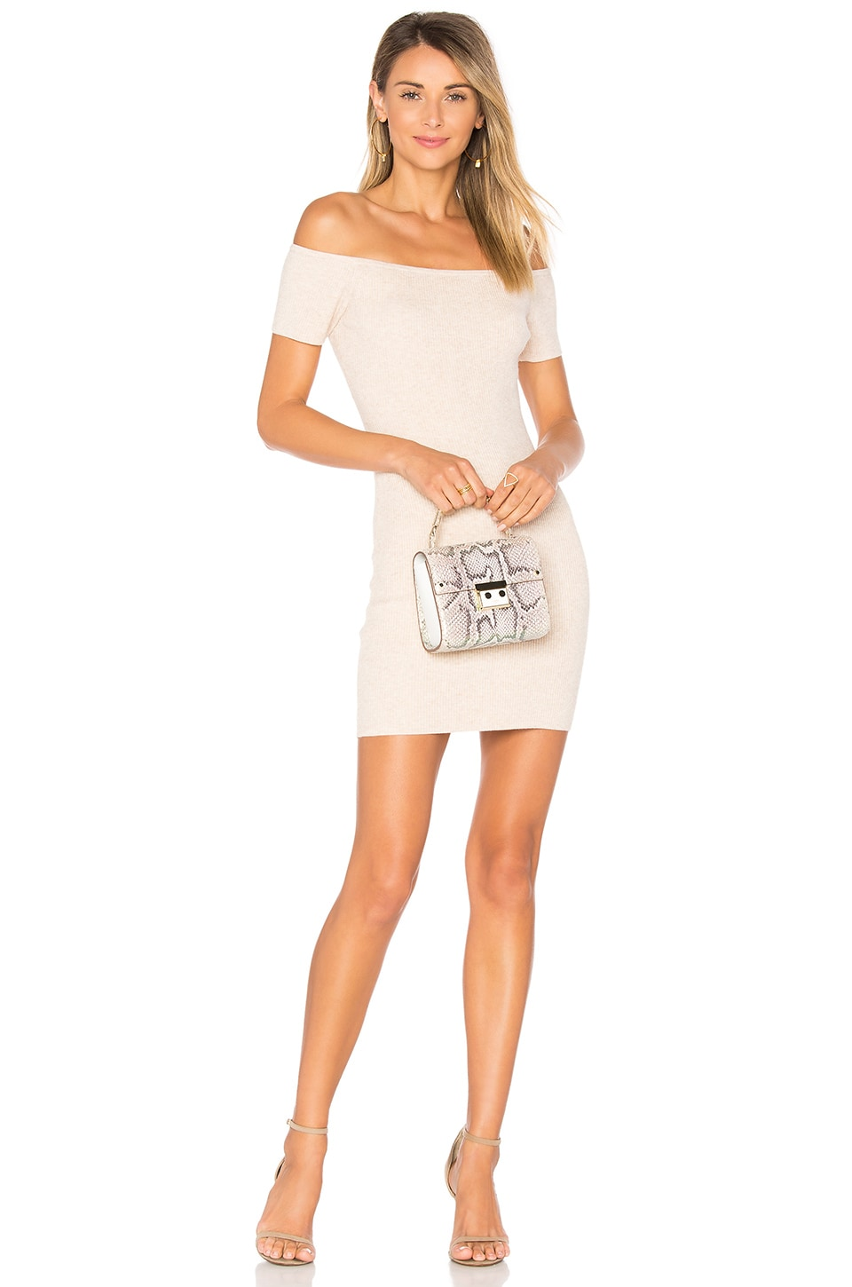 Lovers + Friends Diamond Dress in Nude