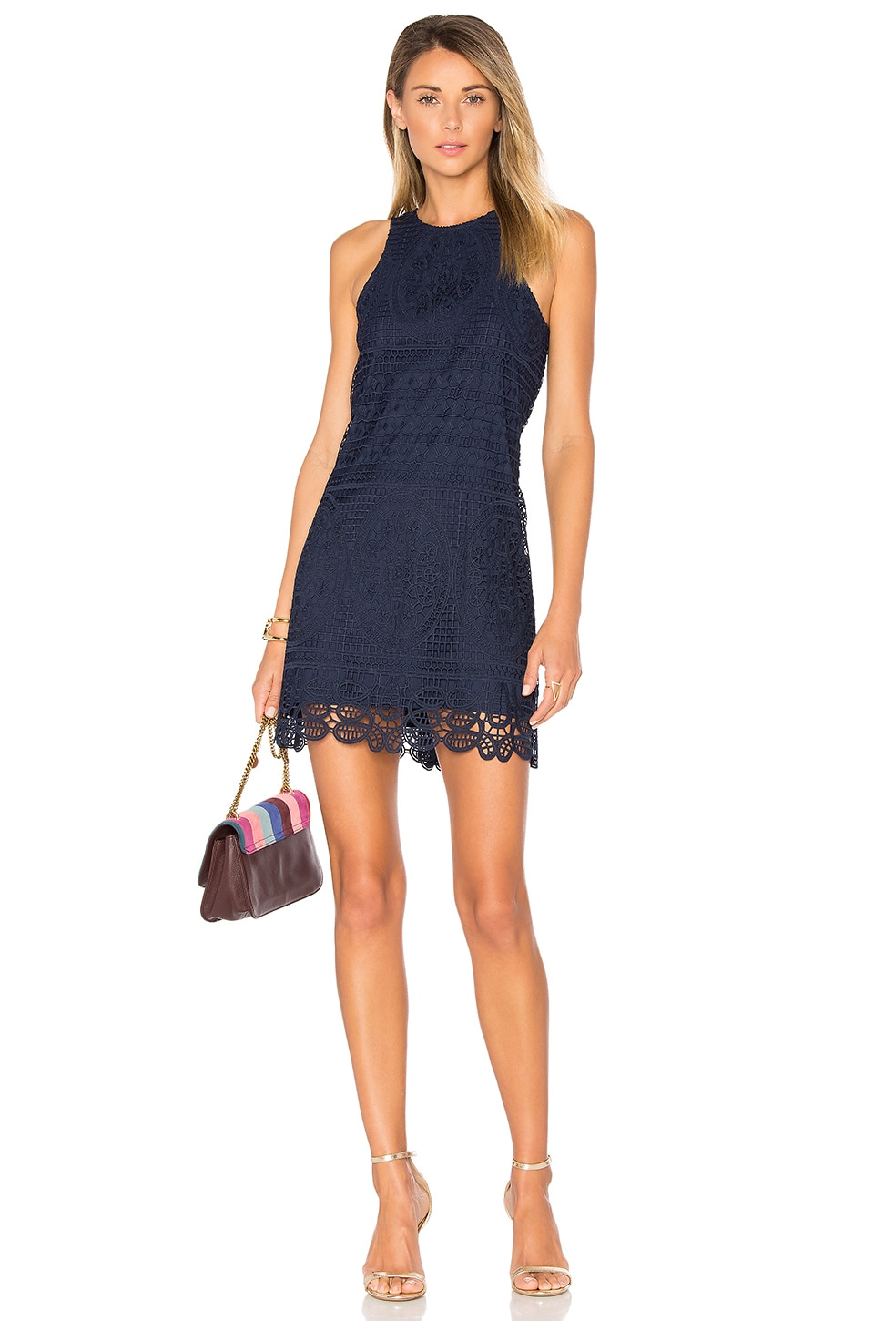 Lovers + Friends Caspian Dress in Navy