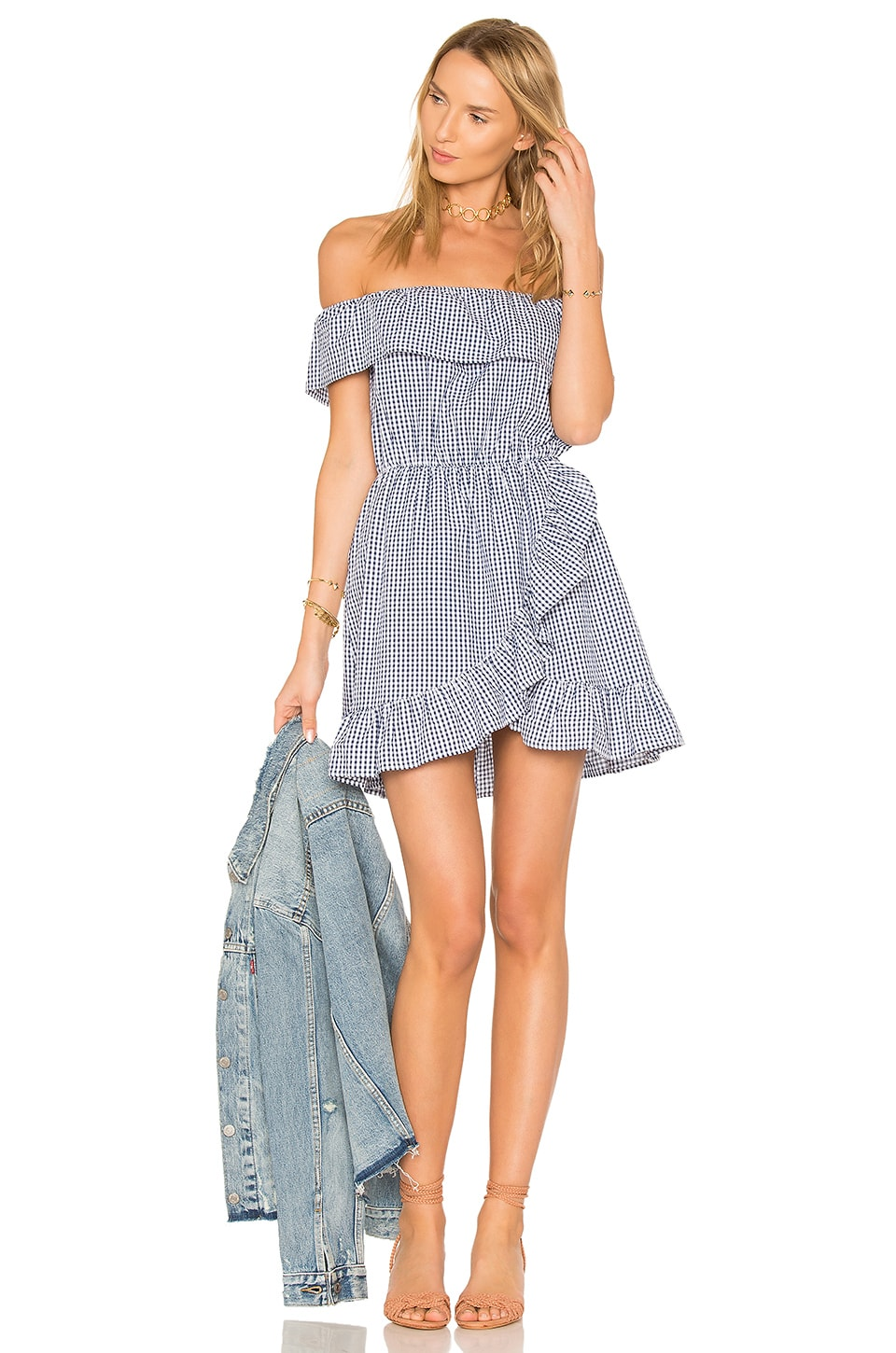 Lovers + Friends x REVOLVE Dazzling Mini in Mini Gingham