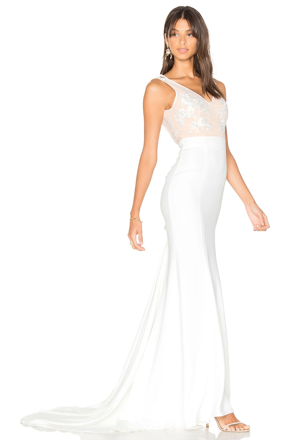 Lovers + Friends x REVOLVE Gallery Gown in White