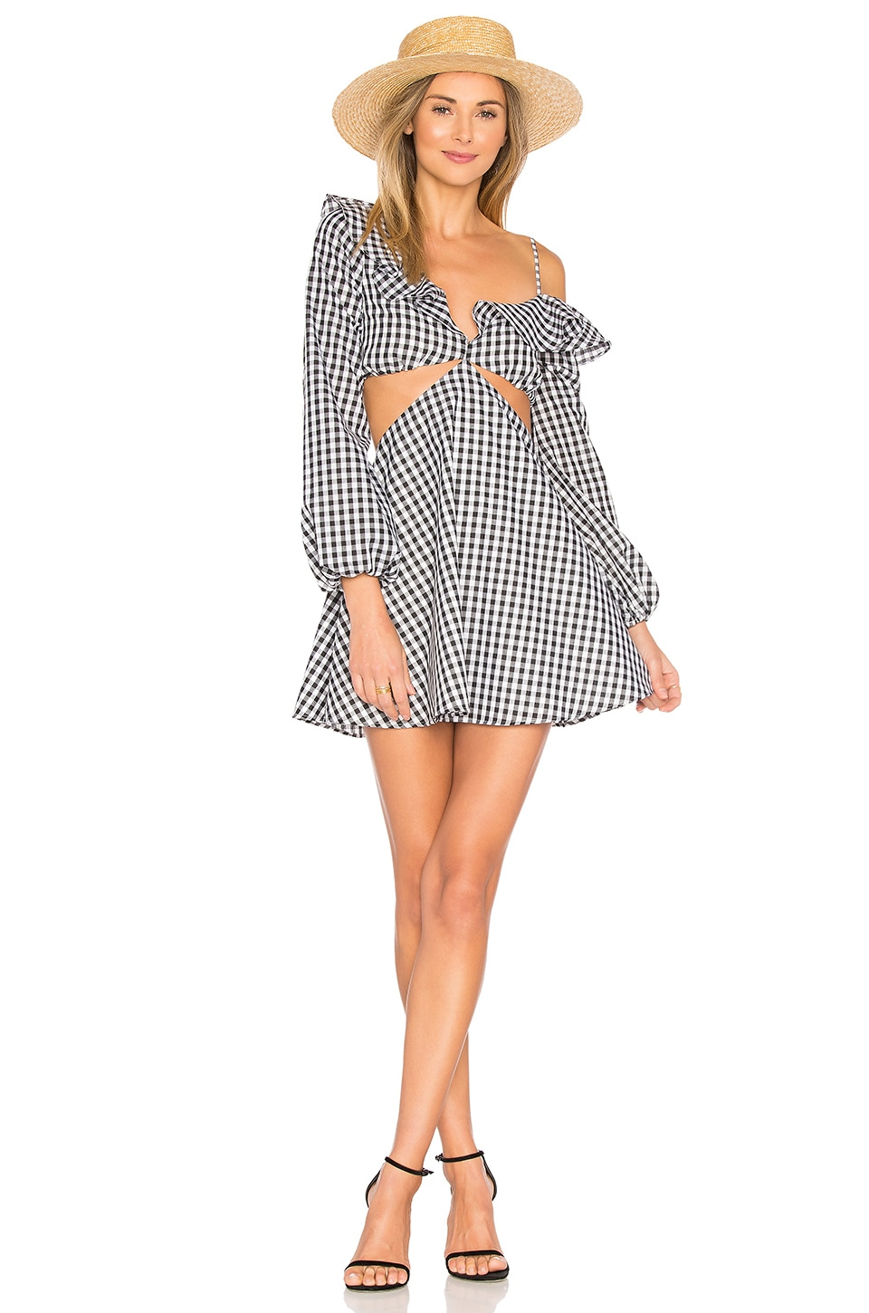 Lovers + Friends x REVOLVE Love Bliss Mini in Gingham