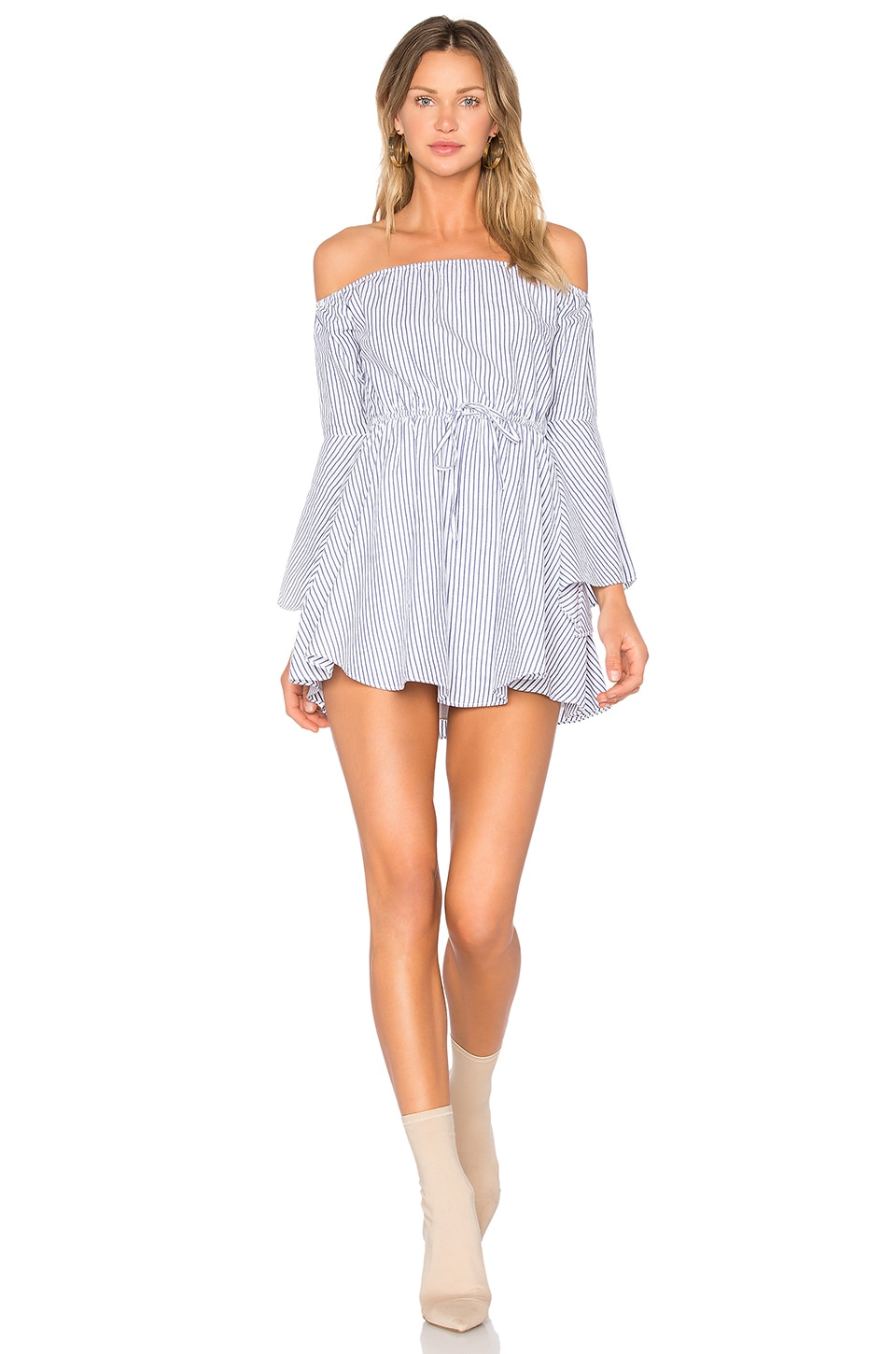 Lovers + Friends x REVOLVE Stay Dress in Stripe
