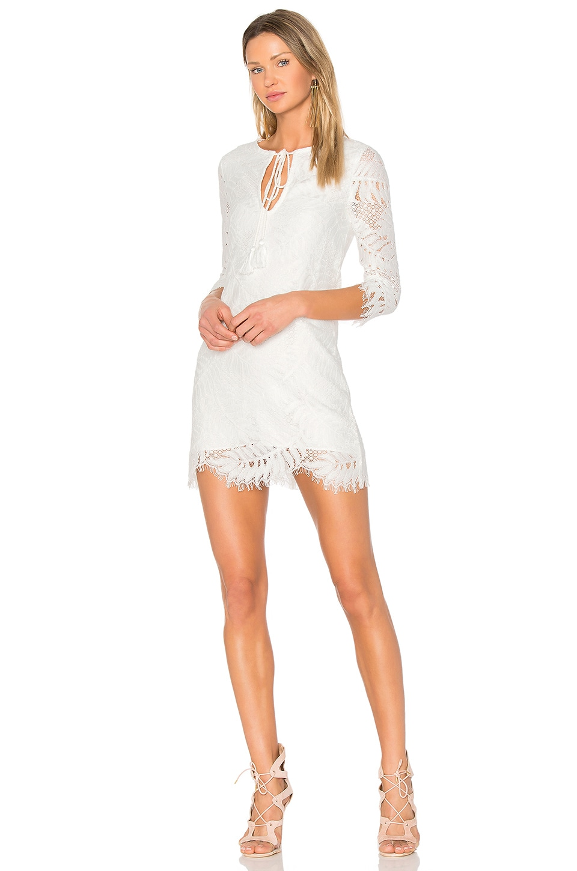 Lovers + Friends Marlie Mini Dress in Ivory