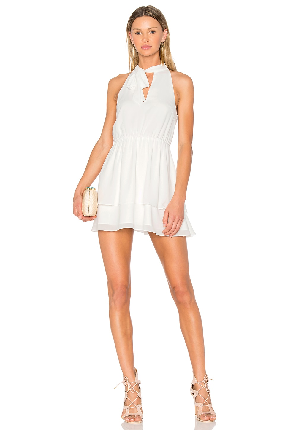 Lovers + Friends x REVOLVE Flower Blossom Dress in White