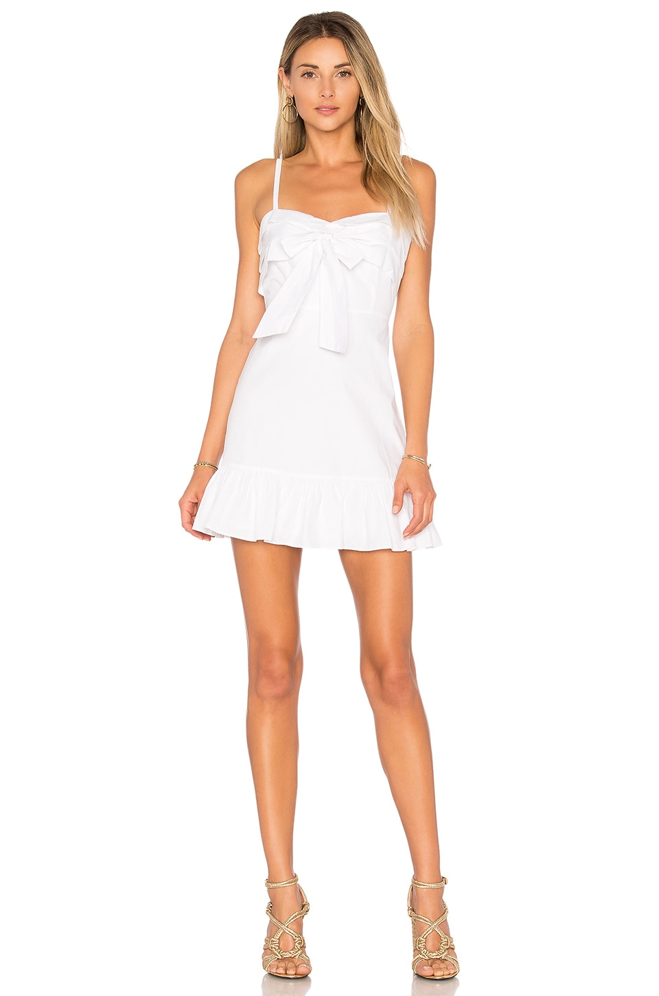 Lovers + Friends x REVOLVE Rania Dress in White